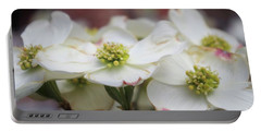 Dogwood Flowers Portable Battery Charger by John S