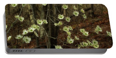 Portable Battery Charger featuring the photograph Dogwoods In The Spring by Mike Eingle