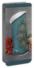 Doily Vase I Portable Battery Charger