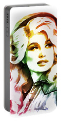 Dolly Parton Portable Battery Charger