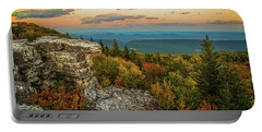 Dolly Sods Autumn Sundown Portable Battery Charger