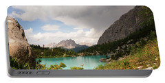 Dolomit View II Portable Battery Charger by Yuri Santin