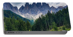 Portable Battery Charger featuring the photograph Dolomite Drama by Jacqueline Faust