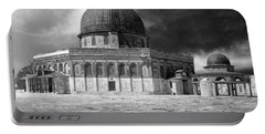 Dome Of The Rock - Jerusalem Portable Battery Charger by Munir Alawi