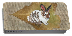 domestic Rabbit Portable Battery Charger