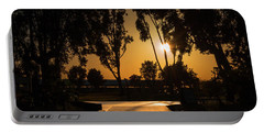 Dominguez Hills Sunset Portable Battery Charger