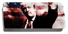 Donald Trump 01a Portable Battery Charger by Gull G