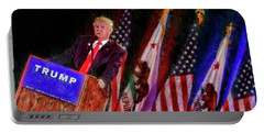 Donald Trump Make America Great Rally Portable Battery Charger