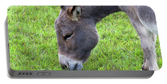 Donkey Closeup Portrait Portable Battery Charger