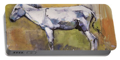 Donkey Stallion, Ronda Portable Battery Charger by Mark Adlington