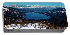 Donner Lake Sierra Nevadas Portable Battery Charger