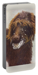Don't Eat The Snow Portable Battery Charger by Nancy Jolley