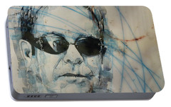 Don't Let The Sun Go Down On Me  Portable Battery Charger by Paul Lovering