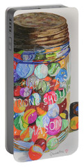 Don't Lose Your Marbles Portable Battery Charger