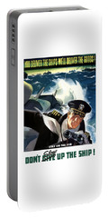 Don't Slow Up The Ship - Ww2 Portable Battery Charger