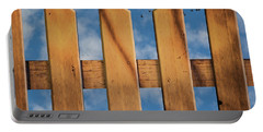 Portable Battery Charger featuring the photograph Don't Take A Fence by Paul Wear