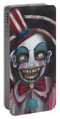 Don't You Like Clowns?  Portable Battery Charger by Abril Andrade Griffith