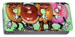 Donut Party Portable Battery Charger