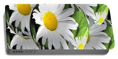 Doo Wop Daisies Portable Battery Charger