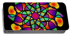 Doodle Mandala Portable Battery Charger
