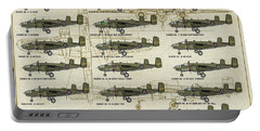 Doolittle Raiders Poster Portable Battery Charger