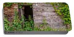 Portable Battery Charger featuring the photograph Door Ajar by Christopher Holmes