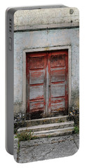 Portable Battery Charger featuring the photograph Door No 175 by Marco Oliveira