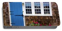 Blue Door - Doors And Windows Series 01 Portable Battery Charger