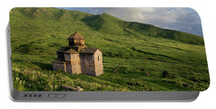Dorband Monastery In The Field, Armenia Portable Battery Charger
