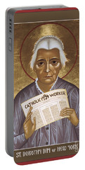 Dorothy Day Of New York - Rldrd Portable Battery Charger