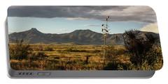 Dos Cabezas Grasslands At Dusk Portable Battery Charger