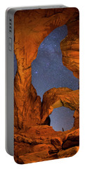 Double Arch At Night Portable Battery Charger