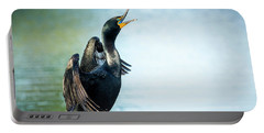 Double-crested Cormorant Portable Battery Charger