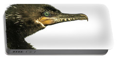 Portable Battery Charger featuring the photograph Double-crested Cormorant  by Robert Frederick
