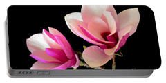 Double Magnolia Blooms Portable Battery Charger