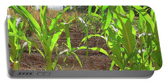 Double Sweet Corn Portable Battery Charger by Deborah Moen