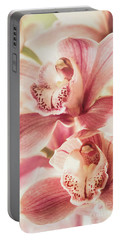 Portable Battery Charger featuring the photograph Double Sweetness by Kim Andelkovic