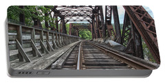 Double Truss Bridge #1679 On The Wmsr Portable Battery Charger by Jeannette Hunt