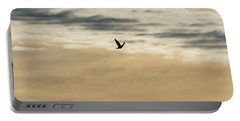 Dove In The Clouds Portable Battery Charger