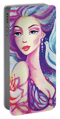 Dove Mermaid Portable Battery Charger