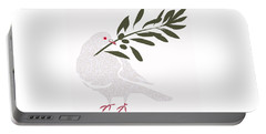 Dove Of Peace Portable Battery Charger