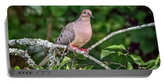 Dove On A Branch Portable Battery Charger