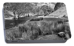 Dovedale, Peak District Uk Portable Battery Charger by John Edwards