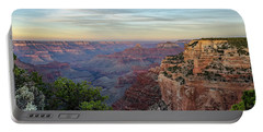 Portable Battery Charger featuring the photograph Down Canyon by Gaelyn Olmsted