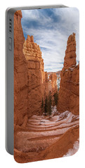 Down Navajo Rim Trail Portable Battery Charger by Greg Nyquist