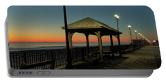 Down The Shore At Dawn Portable Battery Charger