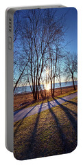 Portable Battery Charger featuring the photograph Down This Way We Meander by Phil Koch