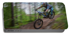 Downhill Race Portable Battery Charger