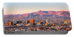 Downtown El Paso Sunrise Portable Battery Charger