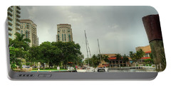 downtown Ft Lauderdale waterfront Portable Battery Charger
